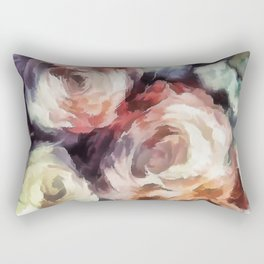 Roses of autumn. Rectangular Pillow