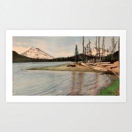 Sparks Lake Art Print