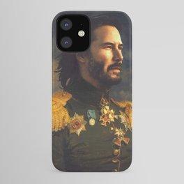 Keanu Reeves Poster, Classical Painting, Regal art, General, John Wick, Matrix, Actor Print iPhone Case