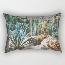The Flora Of The Majorelle Garden Rectangular Pillow