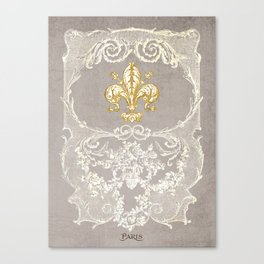 Fleur De Lis Canvas Print