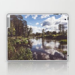 Liwiec River - Landscape and Nature Photography Laptop & iPad Skin