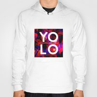 sayings Hoodies featuring Dreams of YOLO Vol.2 by HappyMelvin