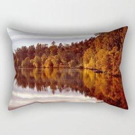 RADIANT AUTUMNAL REFLECTION Rectangular Pillow