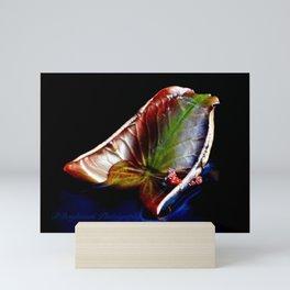 Rainbow Colored Lily Pad Mini Art Print