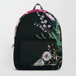 Butterfly Floral Bouquet Backpack