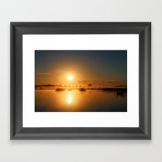Comes the Sun Framed Art Print