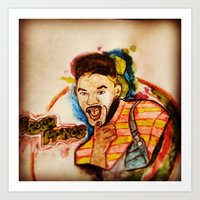 fresh prince Art Prints featuring THE FRESH PRINCE 1.0 by hssingh7