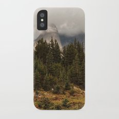 Moody Morning in the Wyoming Wilderness iPhone X Slim Case