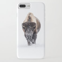 Yellowstone National Park: Lone Bull Bison iPhone Case