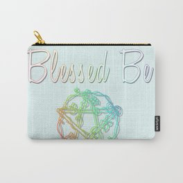 Blessed be with pentacle Carry-All Pouch