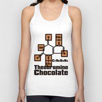 chocolate Tank Tops featuring Chocolate by AURA-HYSTERICA