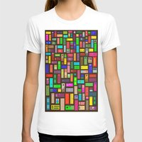 doors T-shirts featuring Doors - Black by Finlay McNevin