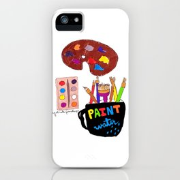 Artist Tools iPhone Case