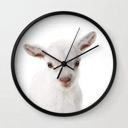 Baby Goat Wall Clock