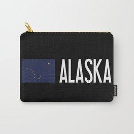 Alaska: Alaskan Flag & Alaska Carry-All Pouch