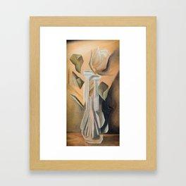 Broken Rose Framed Art Print