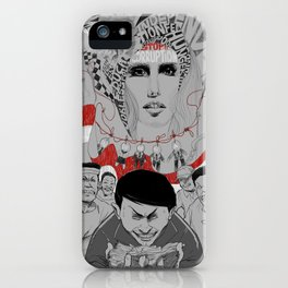 Corruption and Nepotism! iPhone Case