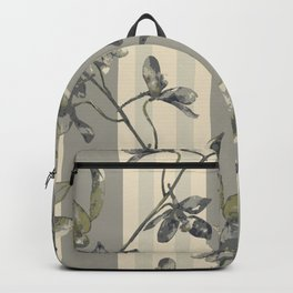 Flowers and Stripes One Backpack