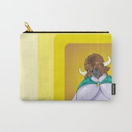 Mrs. Bison Carry-All Pouch