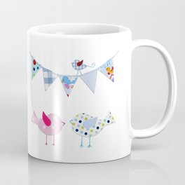 Birds with party flags Coffee Mug