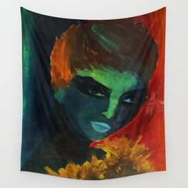 60's Girl Wall Tapestry