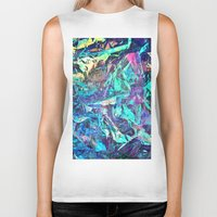 holographic Biker Tanks featuring Holographic II by Nestor2