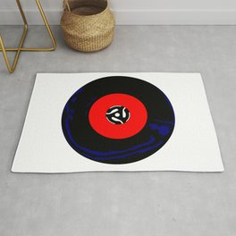 45 RPM Single Record Rug
