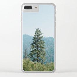 Yosemite National Park XVI Clear iPhone Case
