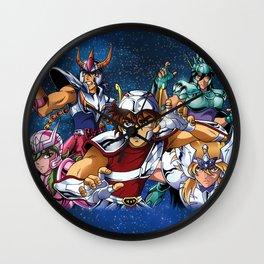 Zodiac Knights Wall Clock