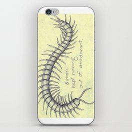 Centipede Deodorant iPhone Skin