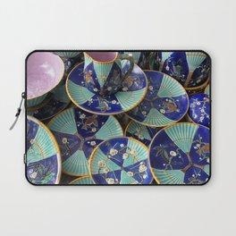 Wedgwood majolica Fan pattern Laptop Sleeve