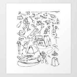 Essentials Art Print