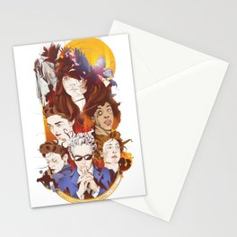 The twelfth hour Stationery Cards