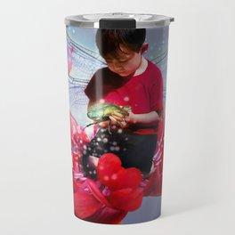 Red Bug Fairy Travel Mug