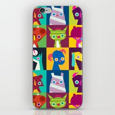 Thumbnail Monsters iPhone & iPod Skin