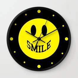 Smile Face 2 Wall Clock
