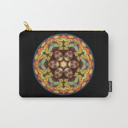 Metta Mandala Black Carry-All Pouch