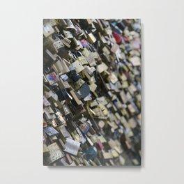 Unlock my (he)art Metal Print