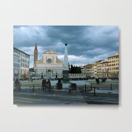Dusk (Florence, Italy) Metal Print