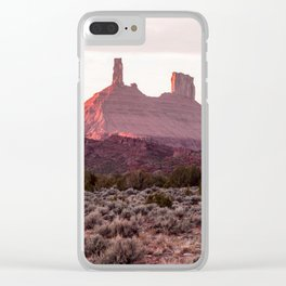 Spire and Mesa Clear iPhone Case