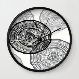 rings Wall Clock