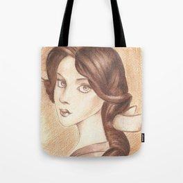 Bonjour, Elizabeth Tote Bag