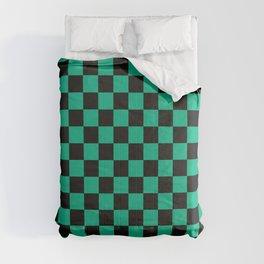 Tanjiro Pattern Comforters