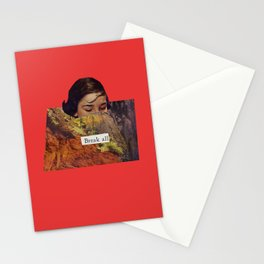 Break All Stationery Cards
