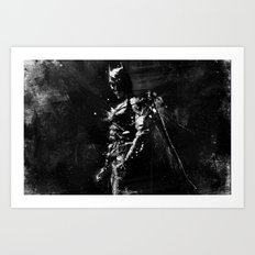 Splash of Darkness. Art Print