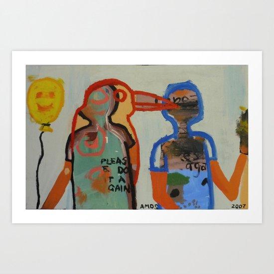 Peer Influences Art Print