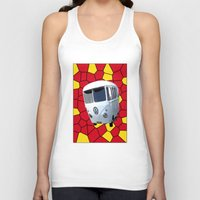 vw Tank Tops featuring Mc VW by Bruce Stanfield