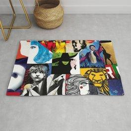 Musicals Collage Rug
