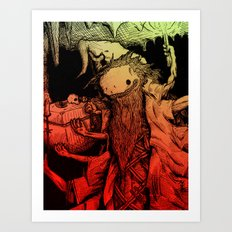 Necromance with Me Art Print